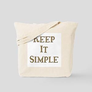 Keep It Simple 6 Tote Bag