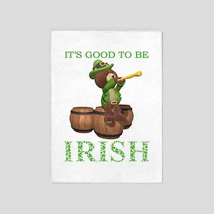 It's Good To Be Irish 5'x7'Area Rug