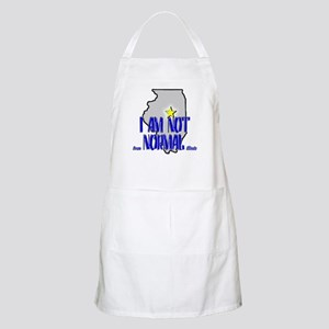 I am not (from) Normal (Illin BBQ Apron