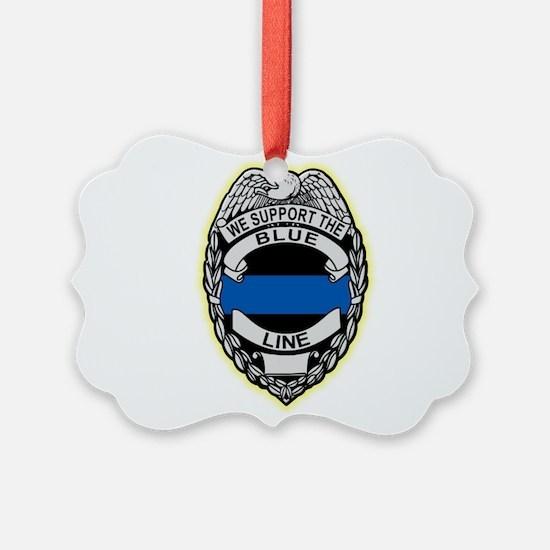 Funny Law enforcement Ornament
