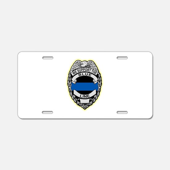 Funny Law enforcement Aluminum License Plate