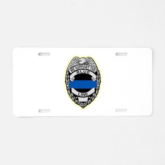 Cool Cops Aluminum License Plate