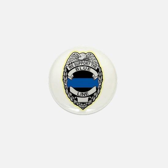 Unique Law enforcement Mini Button