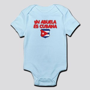 Mi Abuela Es Cubana Shield Infant Bodysuit