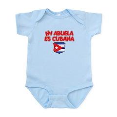 Mi Abuela Es Cubana Shield Infant Bodysuit