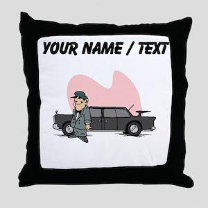 Custom Chauffer Throw Pillow