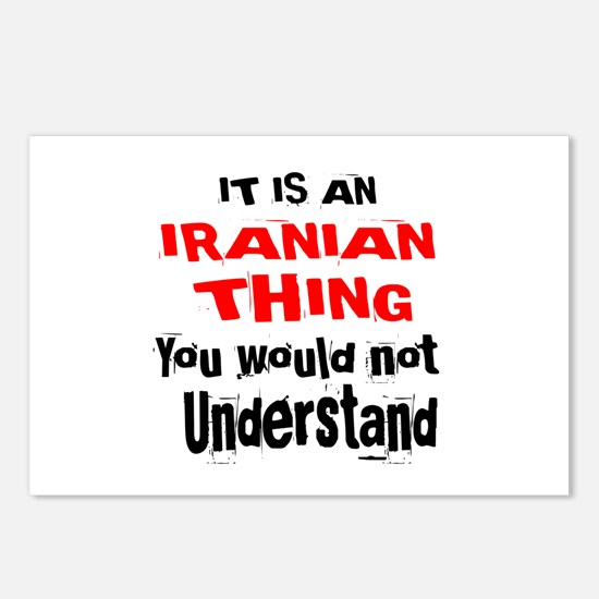 It Is Iranian Thing Postcards (Package of 8)