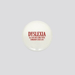 Dyslexia Mini Button