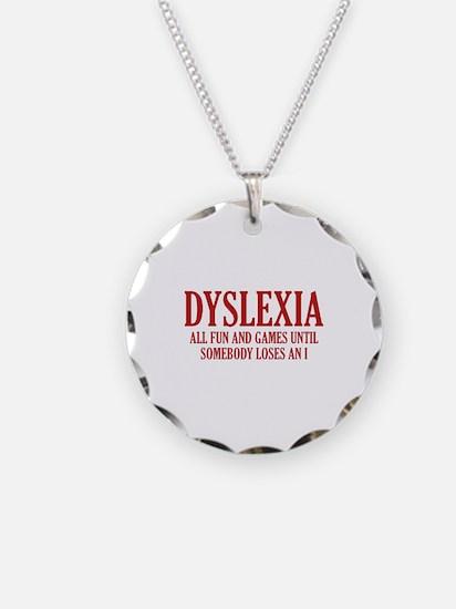 Dyslexia Necklace