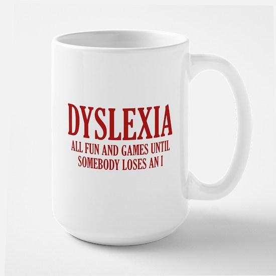 Dyslexia Large Mug