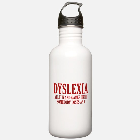 Dyslexia Water Bottle