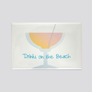 Drinks On The Beach Magnets