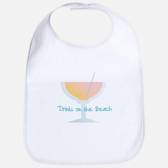 Drinks On The Beach Bib