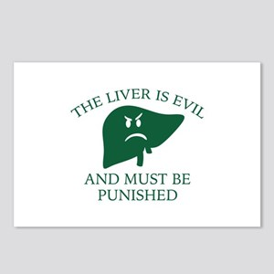 The Liver Is Evil Postcards (Package of 8)