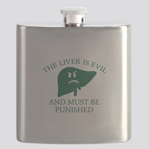 The Liver Is Evil Flask