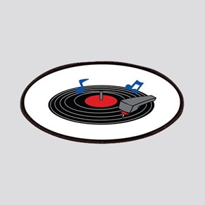 RECORD PLAYER Patches