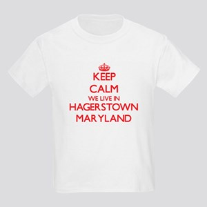 Keep calm we live in Hagerstown Maryland T-Shirt