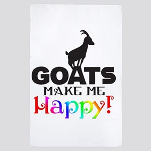 GOATS Make me Happy 4' x 6' Rug