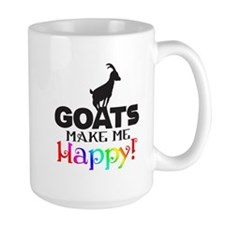 GOATS Make me Happy Mugs