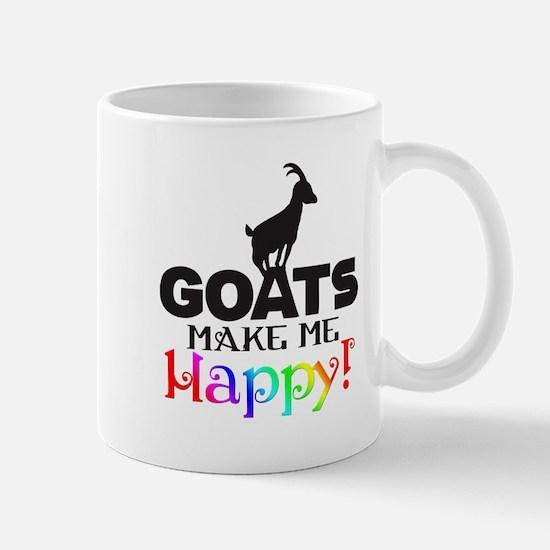 GOATS Make me Happy Mugs