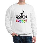 GOATS Make me Happy Sweatshirt