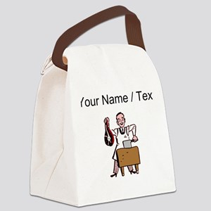Custom Butcher Canvas Lunch Bag