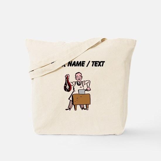 Custom Butcher Tote Bag