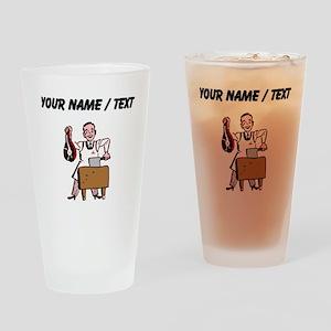 Custom Butcher Drinking Glass