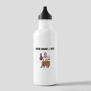 Custom Butcher Water Bottle