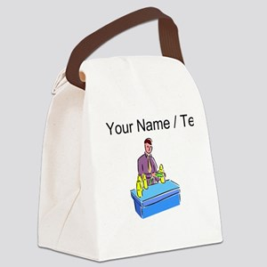 Custom Bottle Manufacturer Canvas Lunch Bag
