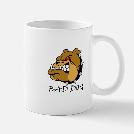 Bad Dog Bulldog Mug