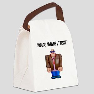 Custom Body Guard Canvas Lunch Bag