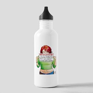 warning Water Bottle