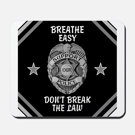 Breathe Easy! Mousepad