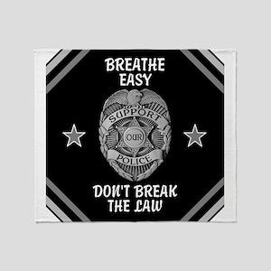 Breathe Easy! Throw Blanket