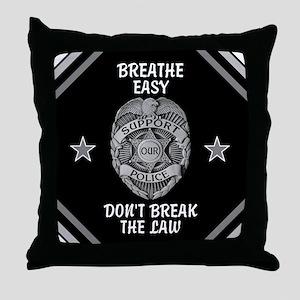 Breathe Easy! Throw Pillow