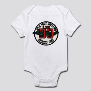 USS FORT SNELLING Baby Light Bodysuit