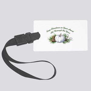 CHRISTMAS IN YOUR HEART Luggage Tag