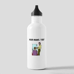 Custom Barber Water Bottle
