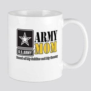 Army Mom Proud Mugs
