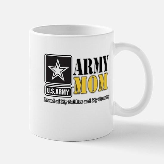 Army Mom Proud Mugs