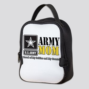 Army Mom Proud Neoprene Lunch Bag