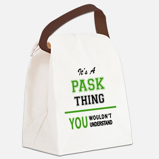 Cute Pask Canvas Lunch Bag