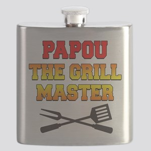 Papou The Grill Master Drinkware Flask