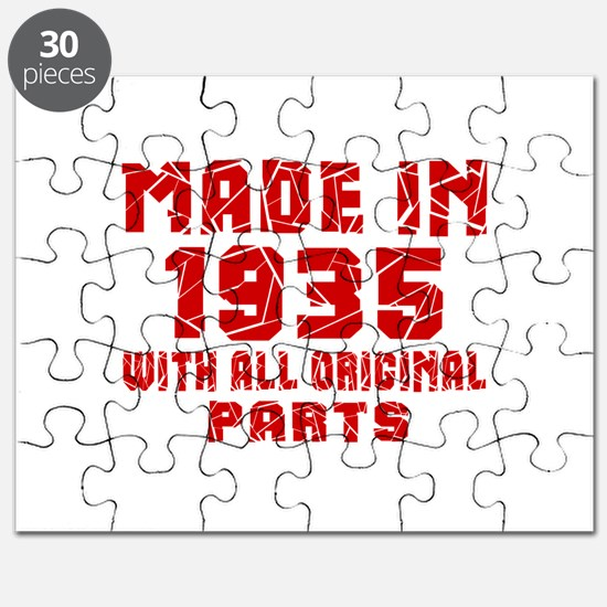 Made In 1935 With All Original Parts Puzzle
