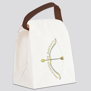 Daughter of Artemis Canvas Lunch Bag
