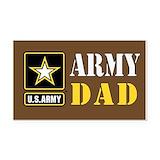 """Army dad 3"""" x 5"""""""