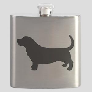 Basset Hound Flask
