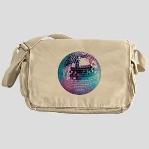 Disco Ball (personalizable) Messenger Bag