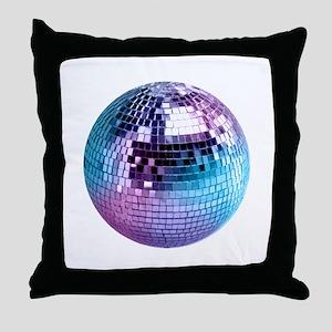 Disco Ball (personalizable) Throw Pillow